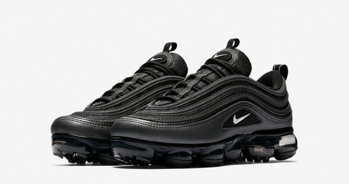 Womens Nike Air VaporMax 97 Metallic Hematite Black AO4542-001