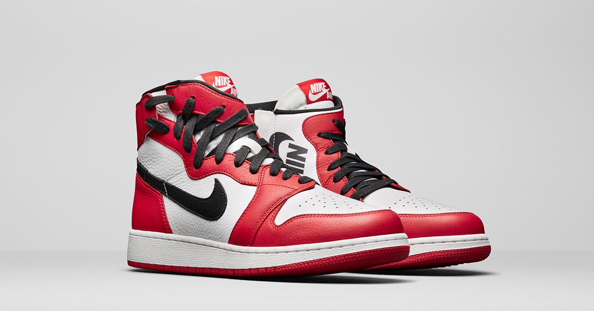 Womens Nike Air Jordan 1 Rebel Chicago