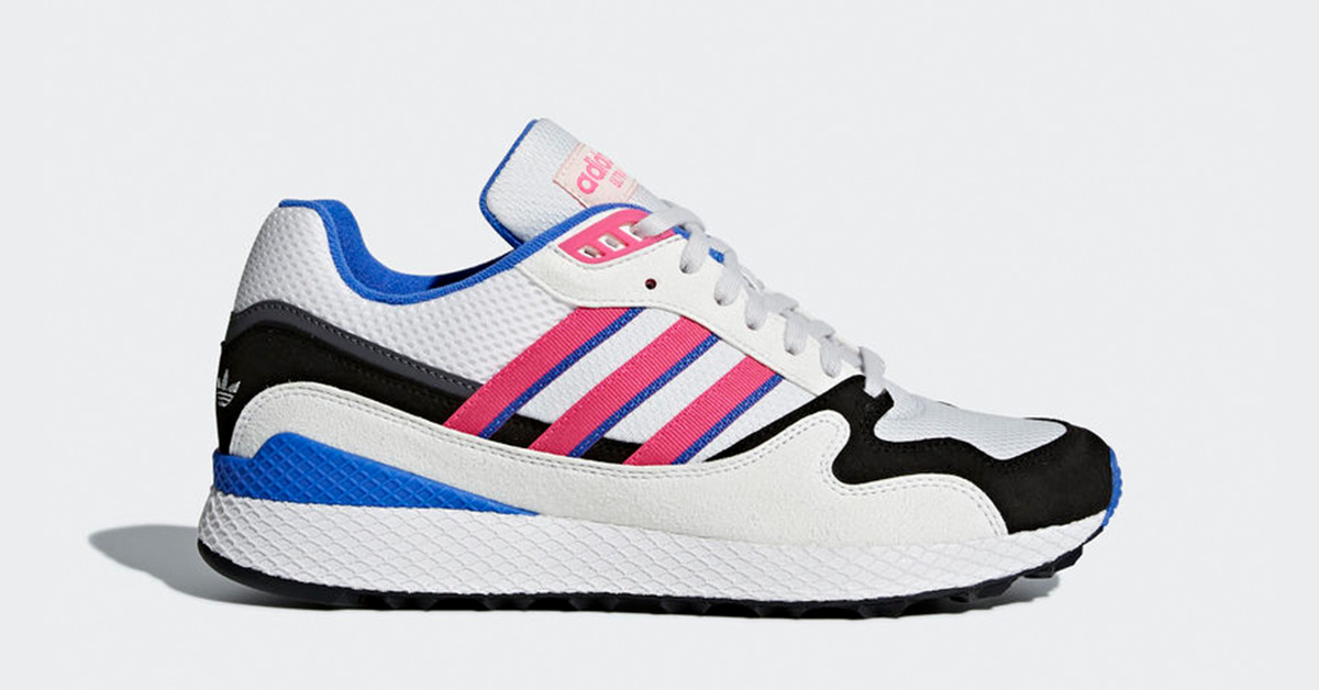Adidas Ultra Tech Crystal White Shock Pink AQ1190