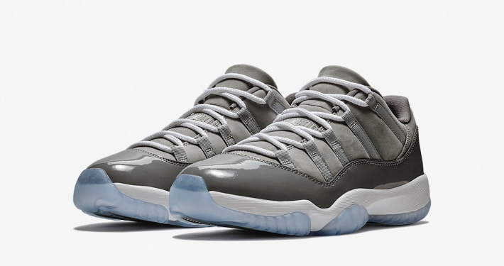 Nike Air Jordan 11 Low Cool Grey 528895-003
