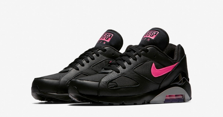Nike Air Max 180 Black Pink Blast AQ9974-001