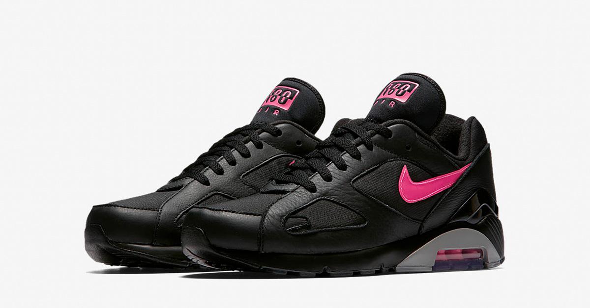 Nike Air Max 180 Black Pink Blast AQ9974-001