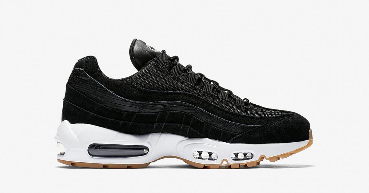 Nike Air Max 95 Premium Black Dark Grey 538416-016