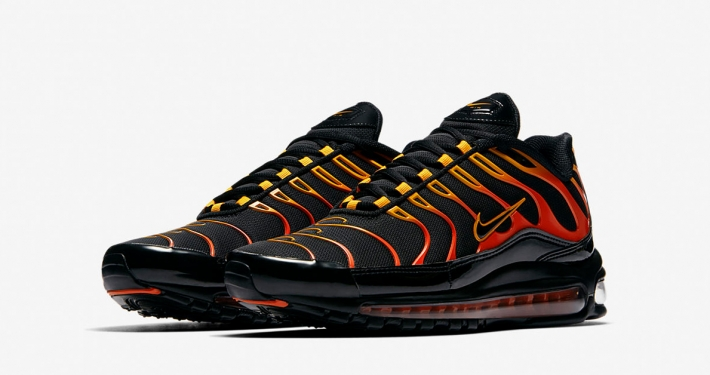 Nike Air Max 97 Plus Shock Orange Black