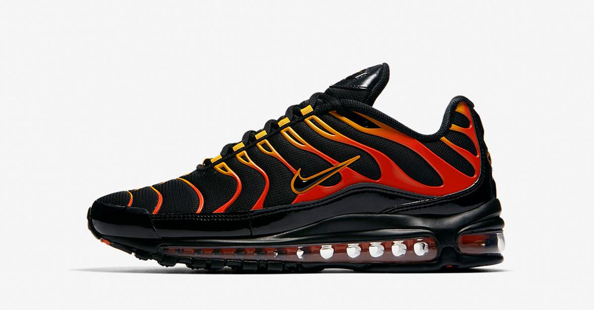 Nike Air Max 97 Plus Shock Orange Black AH8144-002