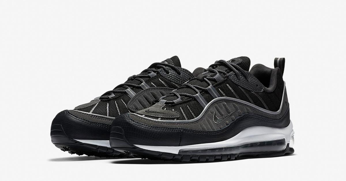 Nike Air Max 98 Black Anthracite AO9380-001