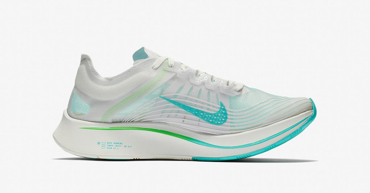 Nike Zoom Fly SP White Rage Green AJ9282-103