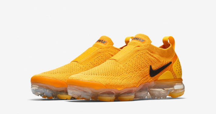 Womens Nike Air Vapormax Moc 2 University Gold Black AJ6599-700