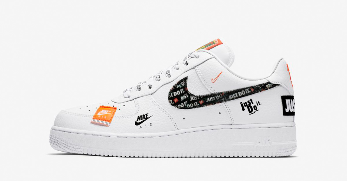 Nike Air Force 1 Low Premium White Total Orange