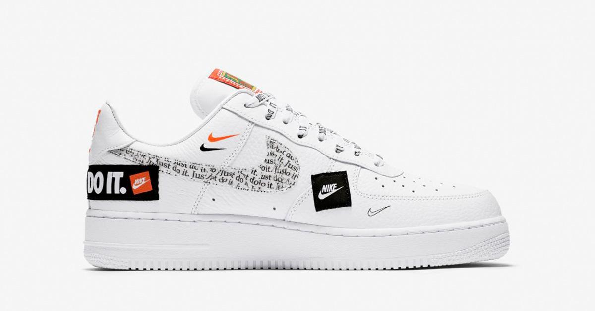 Nike Air Force 1 Low Premium White Total Orange