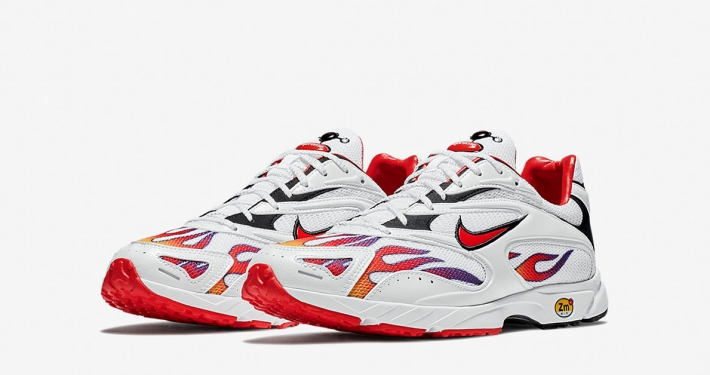 Supreme x Nike Zoom Streak Spectrum Plus White AQ1279-100