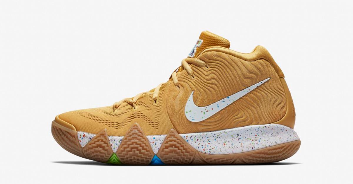 Nike Kyrie 4 Cinnamon Toast Crunch