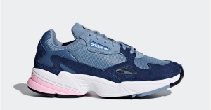 Womens Adidas Falcon Raw Grey D96699