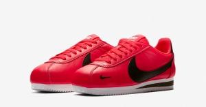 Nike Classic Cortez Premium Red Orbit