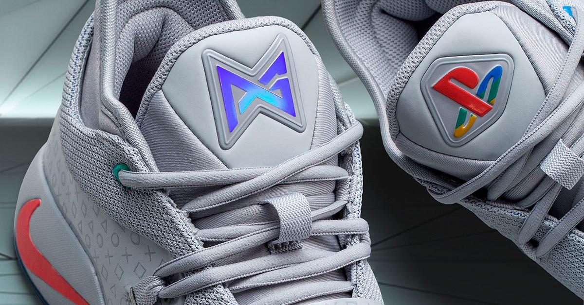Perfect Fortnite Sneakers - Nike PG 2.5 Playstation