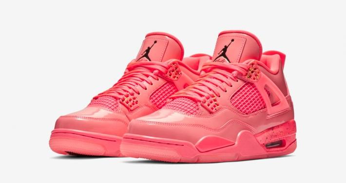 Womens Nike Air Jordan 4 Hot Punch