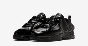 Nike Air Monarch 4 Black Martine Rose