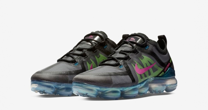 Nike Air Vapormax 2019 Black Active Fuschia AT6810-001