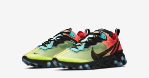 Nike React Element 87 Pink Volt