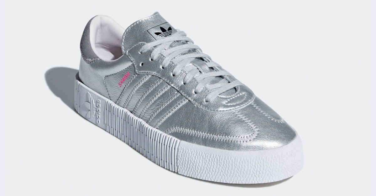 Adidas Sambarose Silver for Women D96769