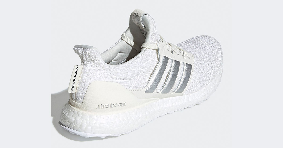 GoT x Adidas Ultra Boost Targaryan White EE3711