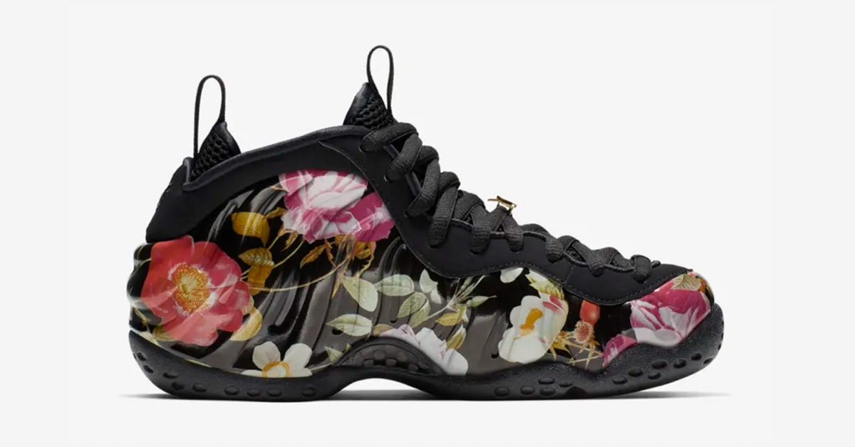 Womens Nike Air Foamposite One Floral