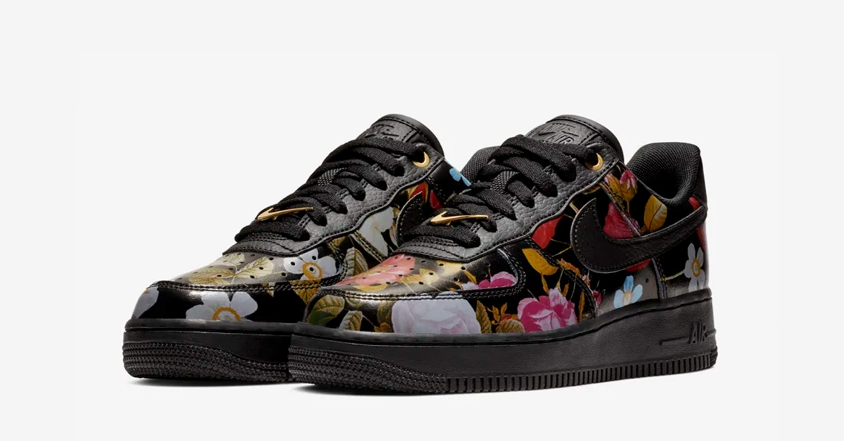 Womens Nike Air Force 1 Floral