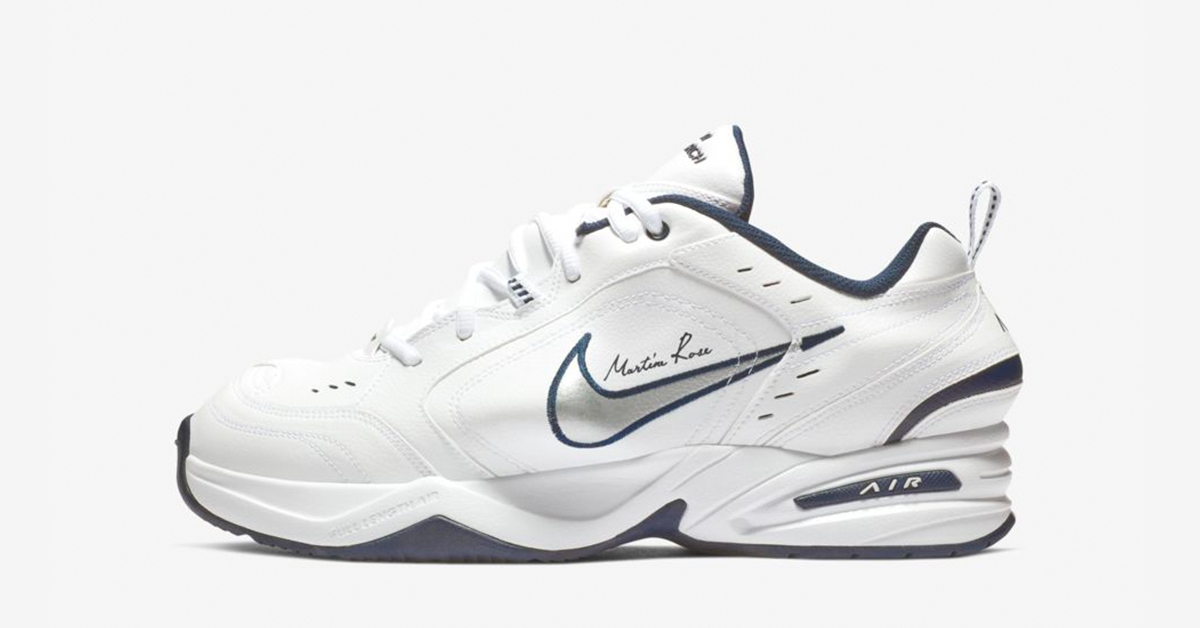 Nike Air Monarch 4 White Martine Rose