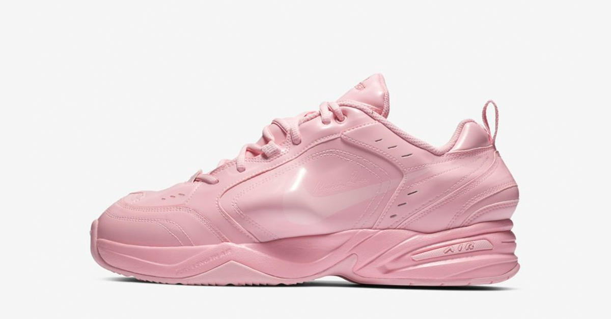 Nike Air Monarch 4 Pink Martine Rose
