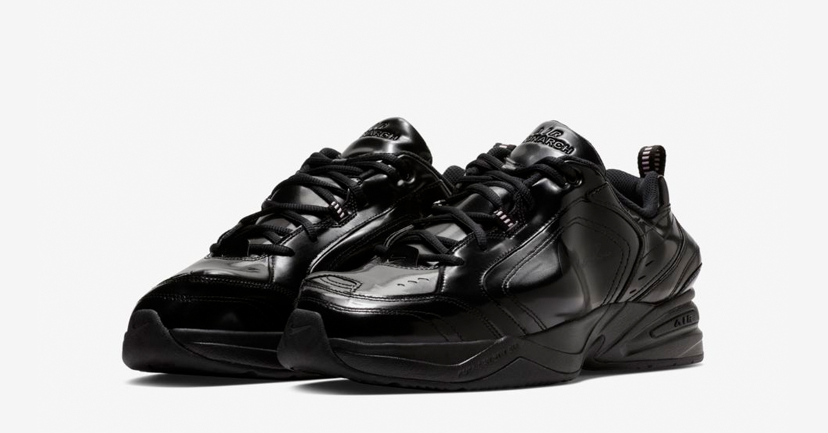 Nike Air Monarch 4 Black Martine Rose