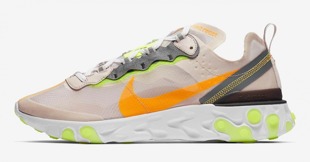 Nike React Element 87 Light Orewood AQ1090-101
