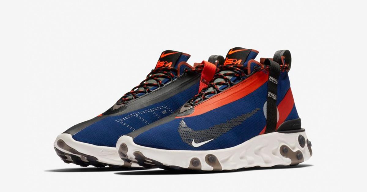 Nike React Runner Mid ISPA Blue Void