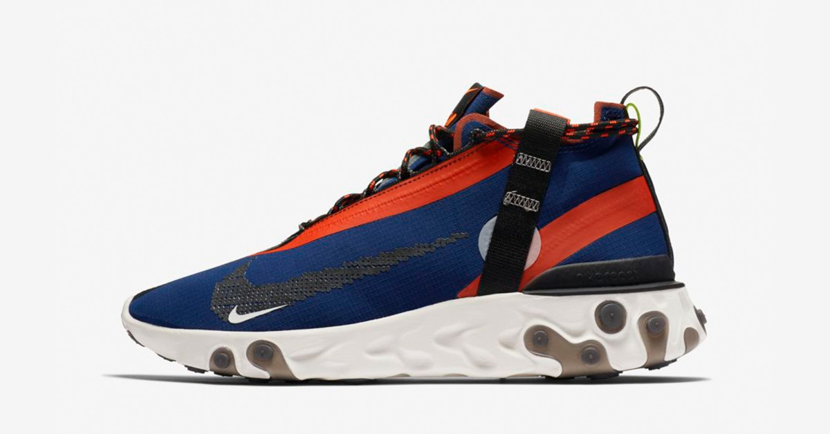 Nike React Runner Mid ISPA Blue Void
