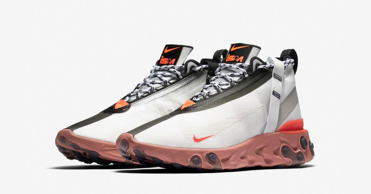 Nike React Runner Mid ISPA Summit White