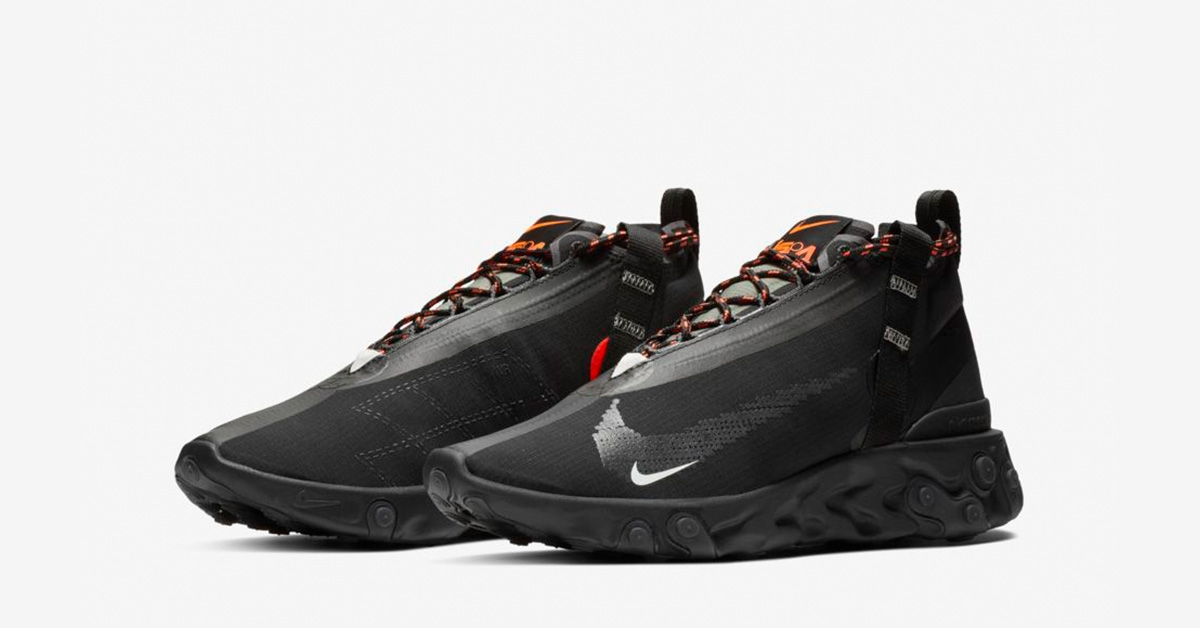 Nike React Runner Mid ISPA Black
